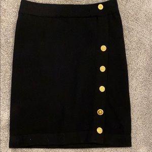 Chanel cashmere skirt